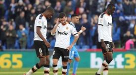 El Valencia no está de acuerdo con la rebaja de sueldo. EFE