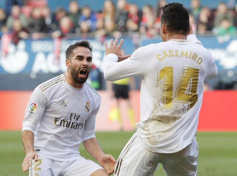 Real Madrid returned to winning ways at Osasuna on Sunday, EFE
