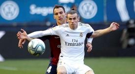 Bale tendrá una nueva oportunidad de redimirse ante el Levante. EFE/Archivo