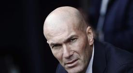 Zidane falou sobre o Manchester City. EFE/Jesús Diges