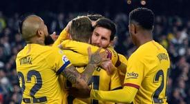 Luis Suárez pense que le Barça ne gagnera rien cette saison. EFE