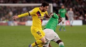 Carvalho suena para abandonar el Benito Villamarín. EFE