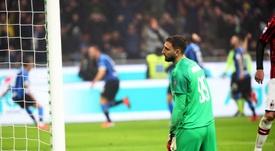 El Milan soñó... y se quedó sin nada. EFE