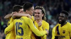 Le Barça s'accroche au Real.