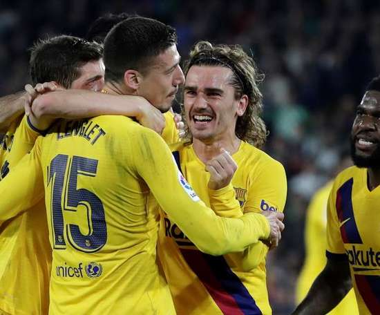 Barca are facing Ferencvaros on Wednesday. EFE