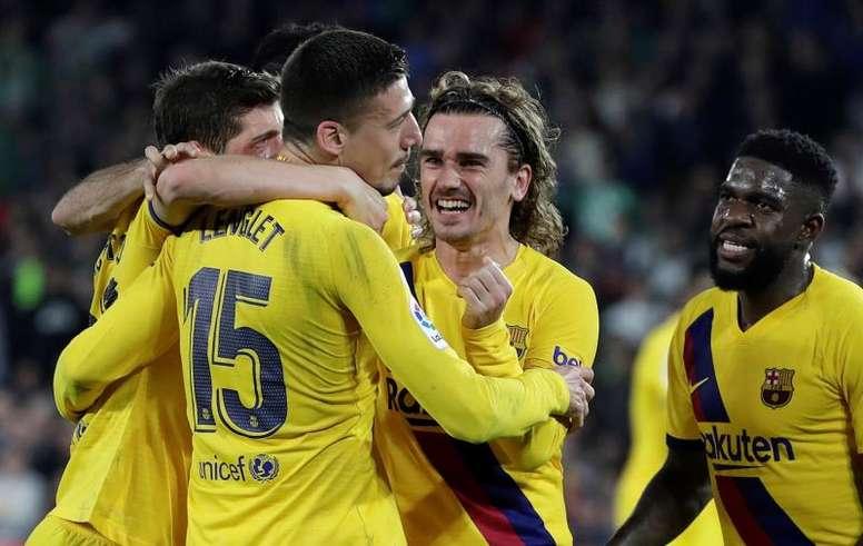 Barca are facing Ferencvaros on Wednesday. EFE