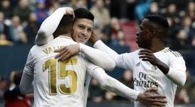 Leicester y Chelsea tendrían a Jovic en su lista de deseos. EFE