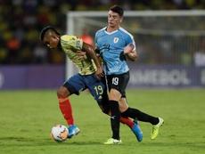 Uruguay se aferra al sueño Olímpico y elimina a Colombia. EFE