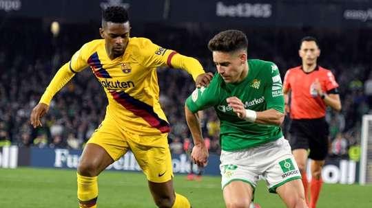Álex Moreno intéresse plusieurs clubs de Premier League. EFE