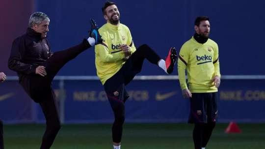 Trois jours de repos pour les joueurs du Barça pour éviter les blessures. EFE