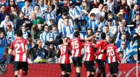 La Real Sociedad y el Athletic podrían verse las caras el 4 de abril de 2021. EFE