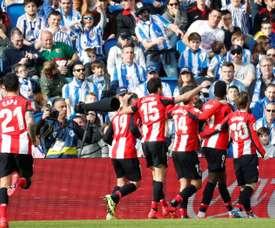 L'Athletic Bilbao et la Real Sociedad se mettent d'accord sur une finale avec du public. EFE