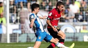 El Mallorca tendrá difícil salvarse si no empieza a ganar fuera. EFE