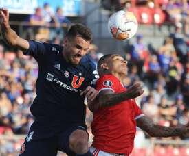 Inter e Universidad de Chile tentam avançar na Libertadores. EFE/ Elvis González/arquivo