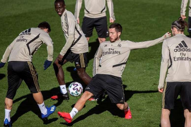 Eden Hazard deve voltar contra o Celta. EFE/Rodrigo Jiménez/Arquivo