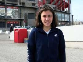 Pauleta es una estrella y, además, estudia química. EFE/Paula Fernández