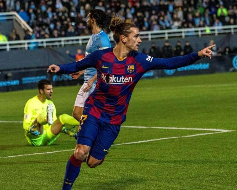 O United sonha com Griezmann. EFE
