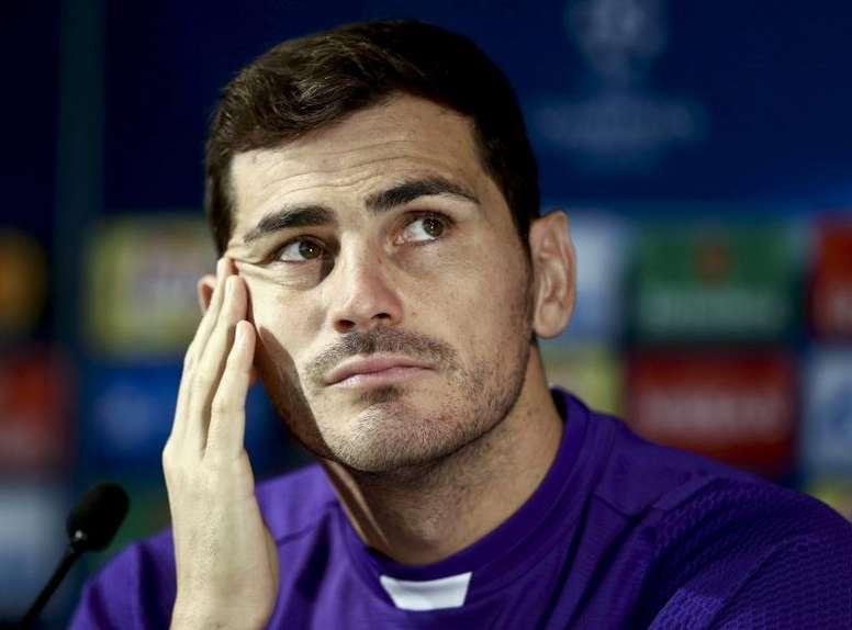 Casillas se une a Gasol, Nadal y Alonso contra el COVID-19. EFE/Archivo