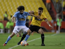 Barcelona y Sporting Cristal se enfrentan en la Copa Libertadores. EFE