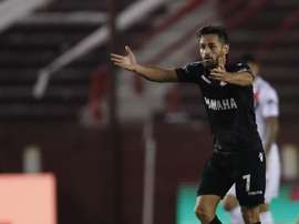 Lanús goleó 3-0 a Universidad Católica. EFE/David Fernández/Archivo