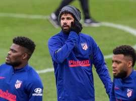 Diego Costa, de retour dans le groupe trois mois plus tard. EFE