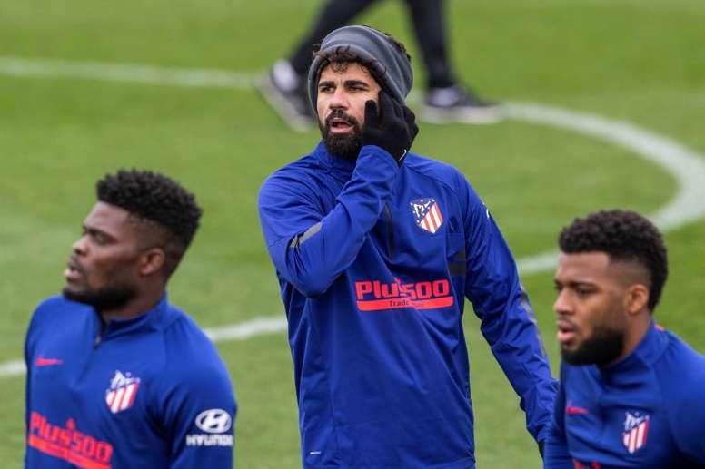 Diego Costa est toujours incertain. EFE