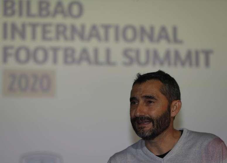 Valverde reapareció en San Mamés. EFE