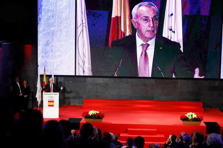 El presidente del Comité Olímpico Español (COE), Alejandro Blanco. EFE/David Fernández/Archivo