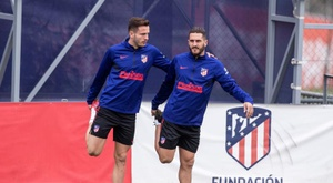 Saúl não sairá do Atlético de Madrid. EFE/Rodrigo Jiménez