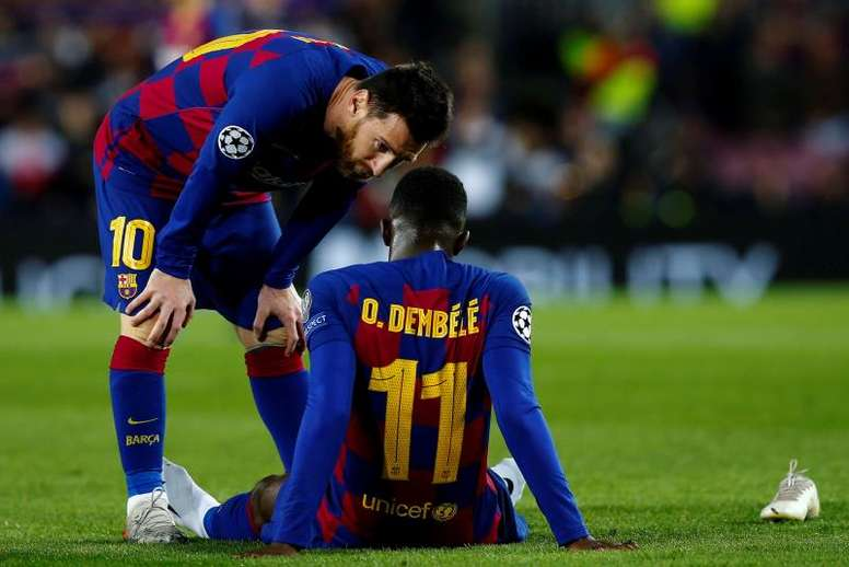 Dembele will not arrive in time for the Champions League. EFE
