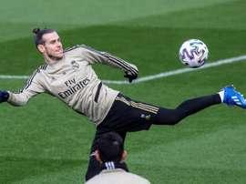 Confiance absolue en Gareth Bale. EFE/Rodrigo Jiménez/Archivo