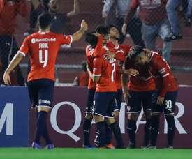 Independiente venció por la mínima. EFE