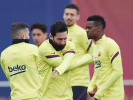 Descanso para o Barça por medo as lesões. EFE