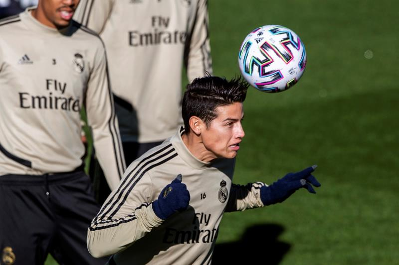 James Real Madrid 2019-20