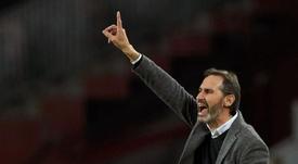 Vicente Moreno habló tras la derrota del Espanyol. EFE/Archivo