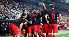 El Atlético demostró que está mejor... pero aún debe mejorar. EFE
