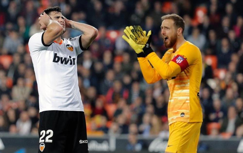 Maxi Gómez se cuela en la lista de posibles '9' para el Atlético. EFE