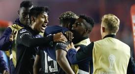 Delfín resurge e Independiente del Valle rescata un punto. EFE