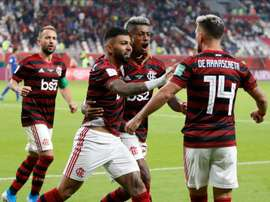Flamengo bate o Athletico Paranaense e conquista a Supercopa. EFE/Ali Haider/Archivo