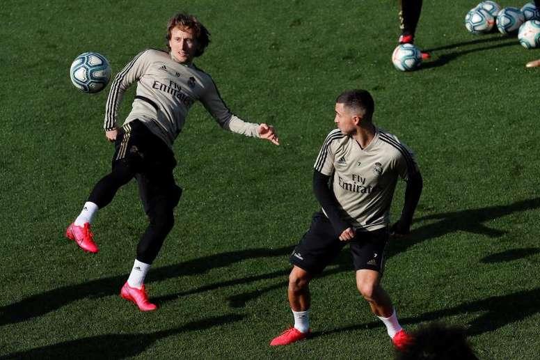 Compos probables du match de Liga entre le Real Madrid et le Celta. EFE