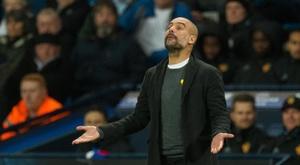 Pep Guardiola tem claro seu maior objetivo. EFE/Peter Powell