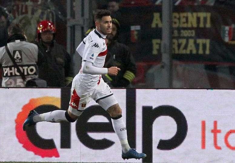 Sanabria marcó un golazo. EFE