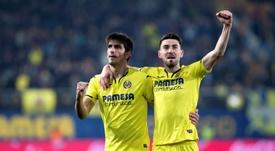 El Villarreal se enfrenta al Atlético de Madrid en Liga. EFE