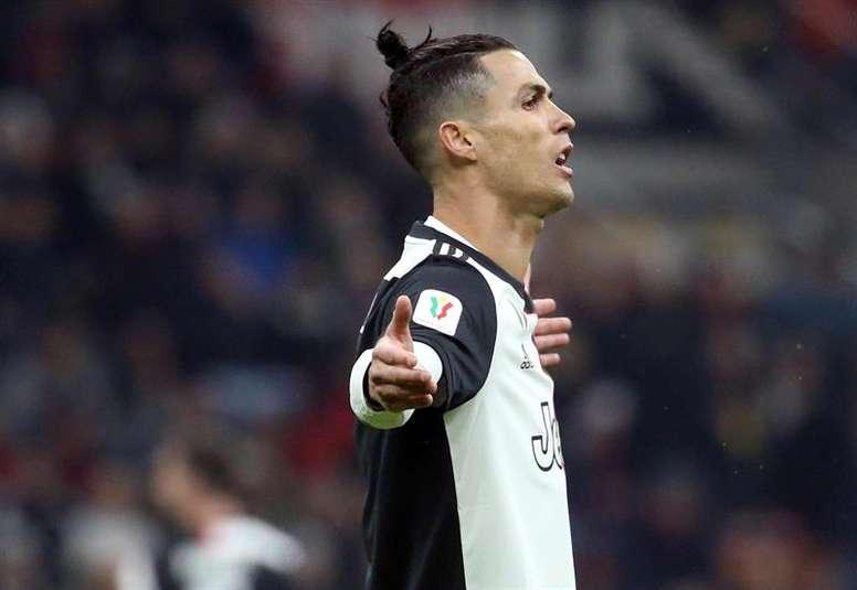Aulas aurait pu recruter Cristiano Ronaldo. EFE
