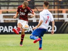 Flamengo derrotó por 3-1 a Nacional. EFE/Nathalia Aguilar