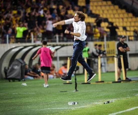 Forlán debutó con triunfo en el Apertura. EFE/Federico Anfitti