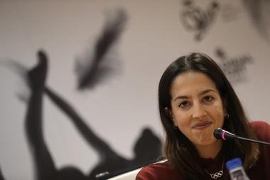 La seleccionadora española de gimnasia rítmica individual, Alejandra Quereda. EFE/Javier Lizón/Archivo
