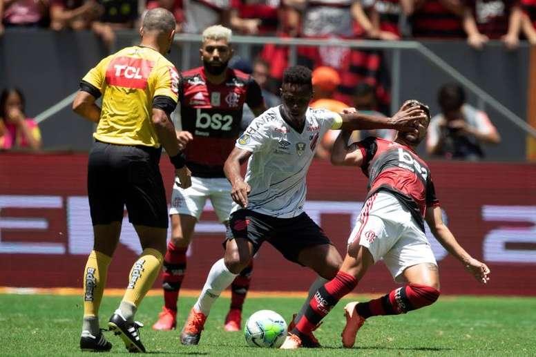 Flamengo ya tiene su primer título de 2020. EFE
