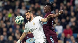 Real Madrid dropped two points after a late Celta equaliser. EFE