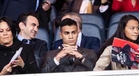 Reinier entrenará a las órdenes de Zidane con el primer equipo. EFE
